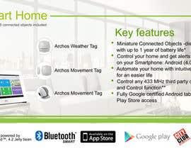 #11 untuk Design a Banner for a Retail Pallet Display Smart Home System oleh mostofafx