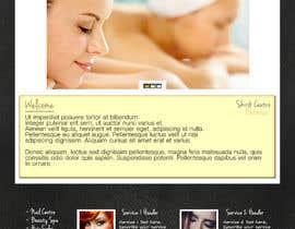 ShortyIsHere tarafından Create website Layout for my Beauty Center için no 2
