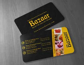 #32 para Business Card Design for Bazaar por Brandwar
