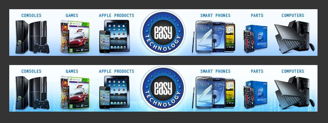 Конкурсная заявка №55 для Banner Ad Design for Easy Technology