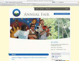 #76 para Logo Design for Small town in Virginia seeks logo / small banner for annual Town Fair website por AnaCZ