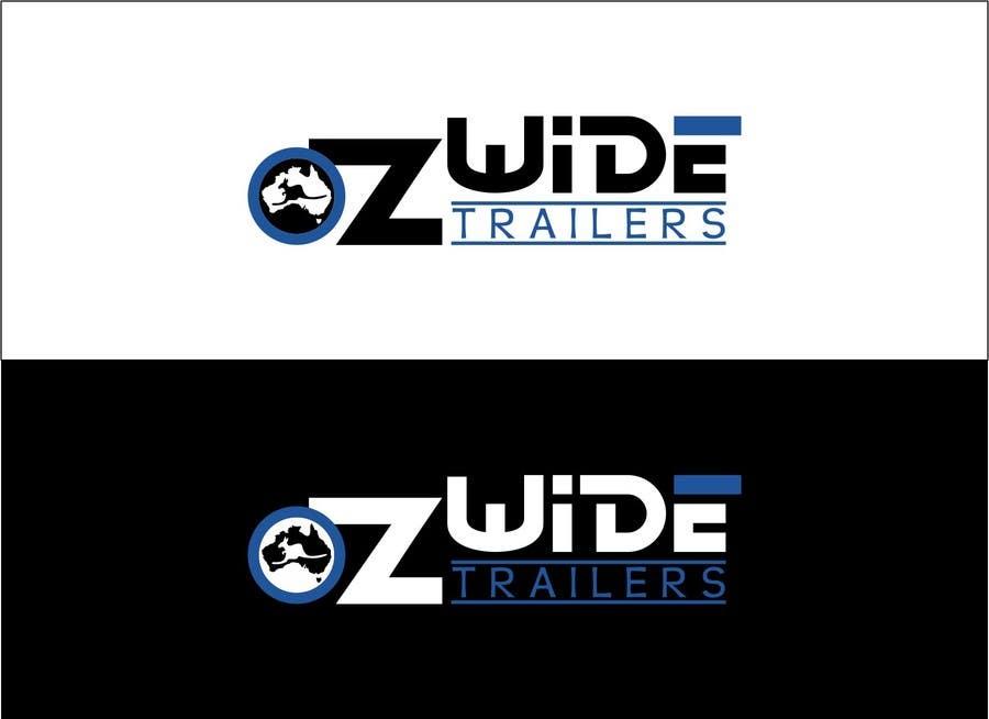Inscrição nº                                         43                                      do Concurso para                                         Logo Design for Oz Wide Trailers