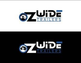 #43 cho Logo Design for Oz Wide Trailers bởi kalashaili