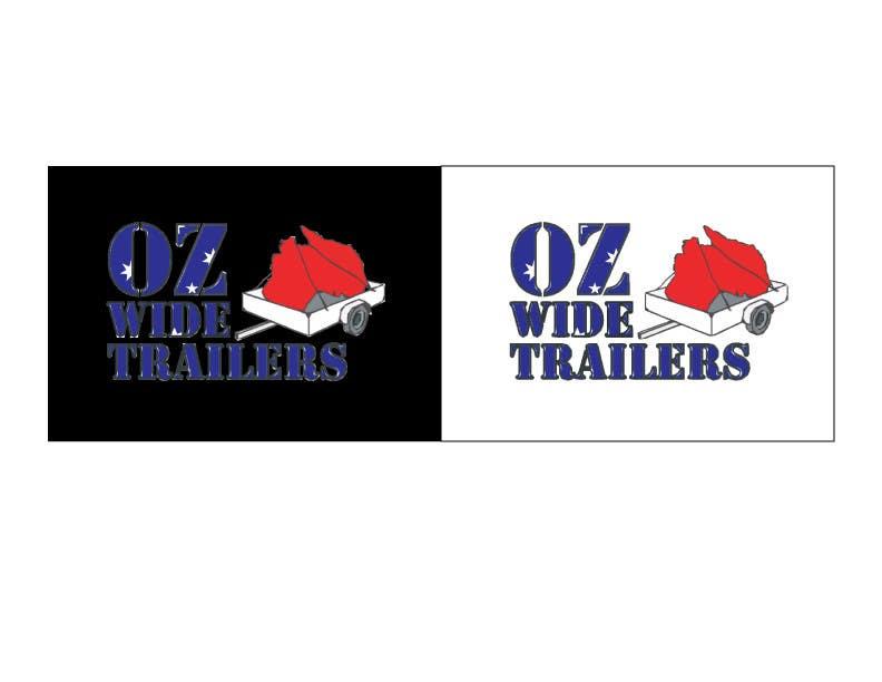 Inscrição nº                                         9                                      do Concurso para                                         Logo Design for Oz Wide Trailers