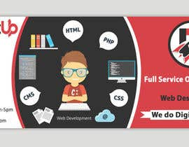 #18 for Design a Facebook Ad Banner for Full Service Web Design Agency by mridulmaheshwri