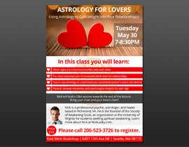 #22 for Astrology for Lovers Lecture Flyer by mukesh7771