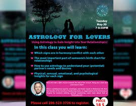 #29 for Astrology for Lovers Lecture Flyer by vectordot