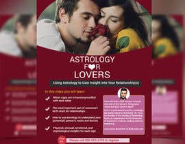 #25 for Astrology for Lovers Lecture Flyer by dipayon74