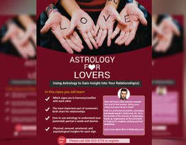#27 for Astrology for Lovers Lecture Flyer by dipayon74