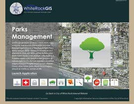 nº 9 pour Internal GIS Website Homepage Design for City of White Rock par AlexandraEdits