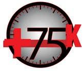 Graphic Design Kilpailutyö #419 kilpailuun Logo Design for +75K