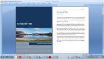 Contest Entry #8 for Word Document Template