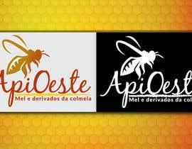 #10 para logo, apicultura, bees por GabrielGamaFree