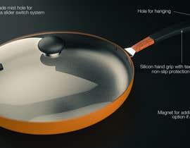 #4 para Cookware Design, Frypan or Saucepan de Hridoycufl