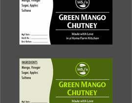 #32 para Jar Label Design - M&J's de arnold865