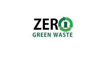 #29 para Zero Green Waste (Logo Design) de XpertDeziner