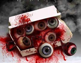 #23 para Large 3' x 4' poster for a zombie restaurant - a little box of eyeballs de freeland972