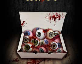 #34 para Large 3' x 4' poster for a zombie restaurant - a little box of eyeballs de justice92