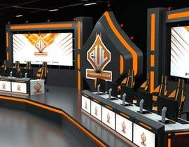 #18 for eSports Stage Studio Design av AlexAugustine