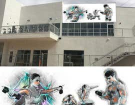 #25 for Design a fitness wall mural by kawsall