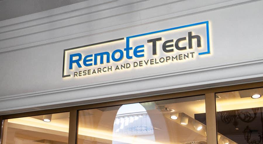 Inscrição nº 69 do Concurso para LOGO REMOTE TECH - Research and Development