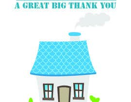 #9 for Design a the front page of a  Thank You Card and a New Home Card by imtiazmaruf34