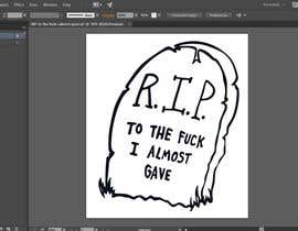 #7 for Create Artwork: R.I.P. by Fayeds