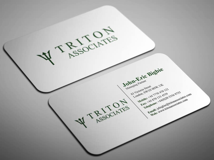 Entry 4 by smartghart for typeset business cards freelancer business card reheart Images