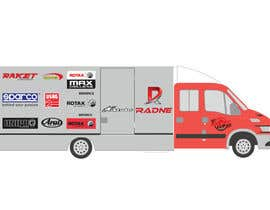 #113 for Design Transport Van with logos by graphiceager
