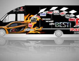 #117 for Design Transport Van with logos by kismet053087