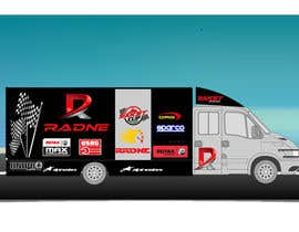 #114 for Design Transport Van with logos by sasacool1
