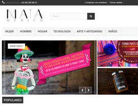 #3 for Diseño gráfico para tienda en línea de diseñadores y productos mexicanos by Leugim83