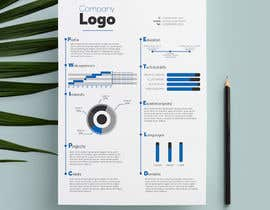#7 for Design a graphic CV by vietcatscontact