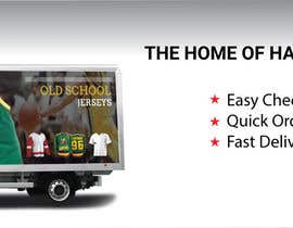 #32 for Wide Banner Design for Custom Jersey Company by DHL007