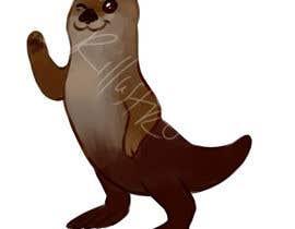 #7 for Draw a sea otter by rillustro