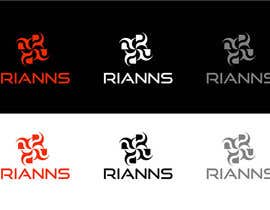 #62 for Logo for Rianns by jeemaa22