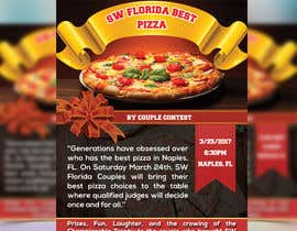 #15 for SW FL Best Pizza by Couple Flyer by vectordot