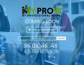 #28 for Build a coming soon page for my Website and design the related back ground by mwarriors89