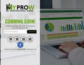 #27 for Build a coming soon page for my Website and design the related back ground by dsquarestudio