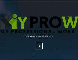 #39 for Build a coming soon page for my Website and design the related back ground by joishbosco