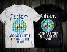 #45 for Autism World T Shirt by nobelahamed19