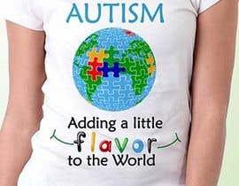 #57 for Autism World T Shirt by satishandsurabhi