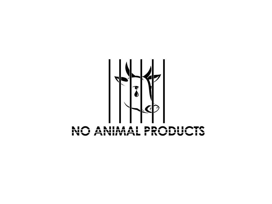 Contest Entry #1 for Design a Logo - for no animal products