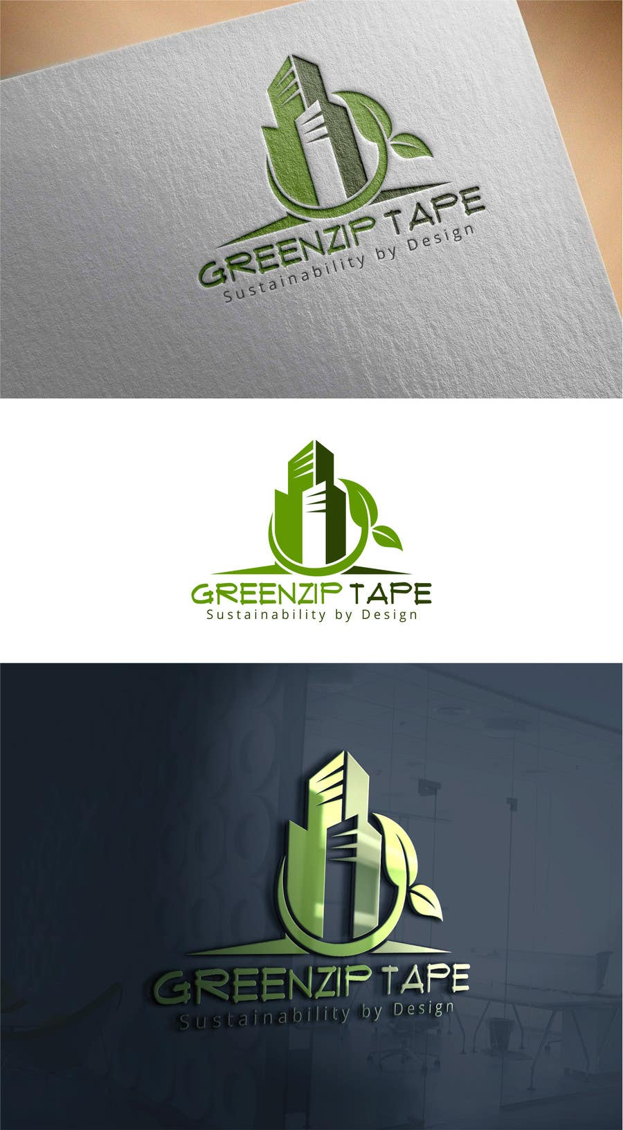 Contest Entry #593 for GREENZIP LOGO