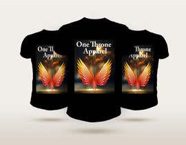 #39 for T-shirt design -  reign from heaven by omarfaroque100