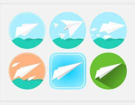 #22 for Design a Material Design logo for a paperplane website by gustav0brenner