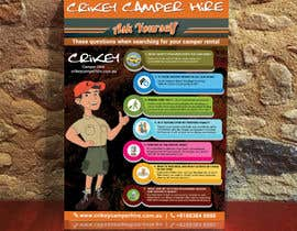 #2 for Design an informational flyer with illustrations for an Australian camper rental company by ibrainsdev