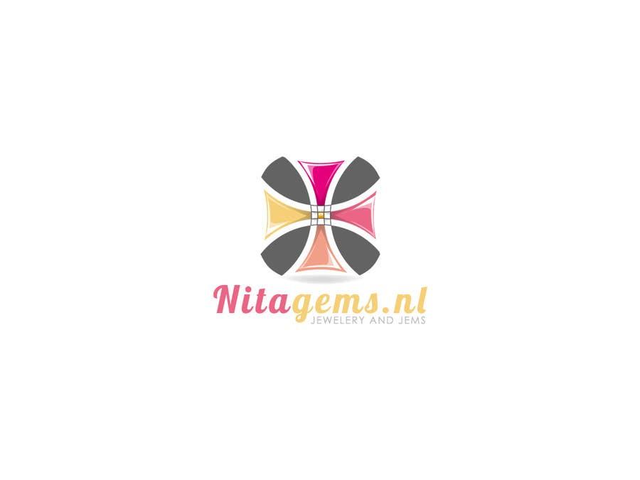 Logo Design for Nita Gems için 555 numaralı Yarışma Girdisi
