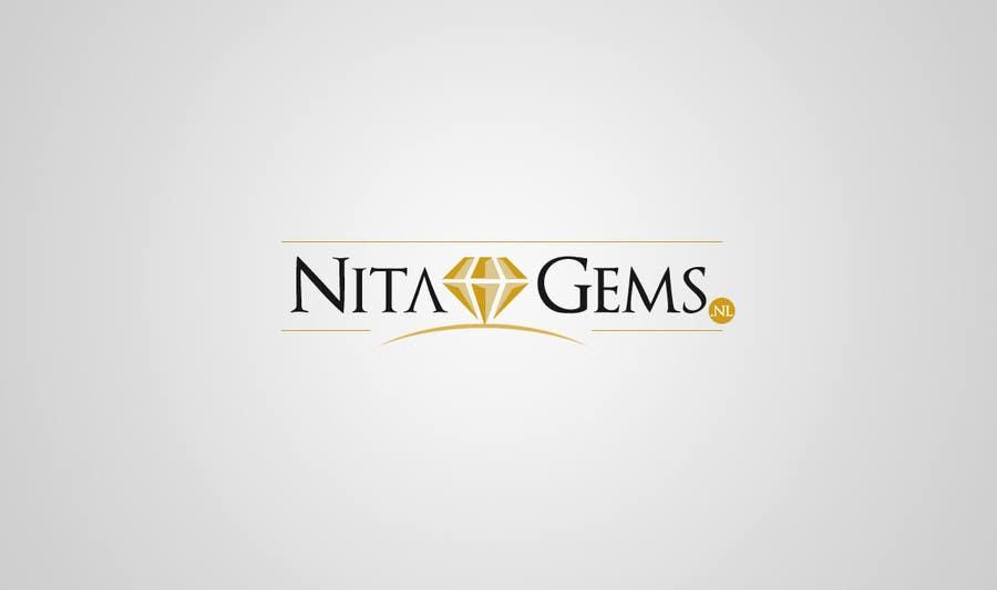 Logo Design for Nita Gems için 528 numaralı Yarışma Girdisi