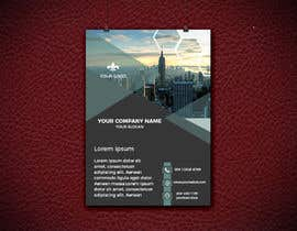 #16 for I need a Company Flyer template in photoshop or illustrator with corporate design. by marfydesign